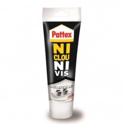 Colle Ni clou ni vis chrono invisible Pattex - Tube 200g