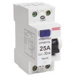 DEBFLEX Interrupteur différentiel 25 A type AC