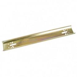 ZENITECH Rail métal universel 13 modules pour tableau électr