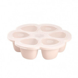 BEABA Multiportions silicone 6x90 ml pink