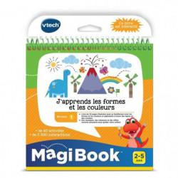 VTECH - Livre Interactif Magibook - J'Apprends Les Formes Et