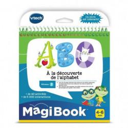 VTECH - Livre Interactif Magibook - ABC, a La Découverte De