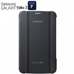 """Samsung étui rabat Galaxy Tab3 7"""" gris"""