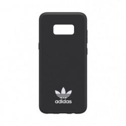 ADIDAS Coque Moulded en daim - Galaxy S8 Plus - Noir et blan