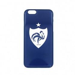 FFF Coque Blason Blanc  pour iPhone 6 - Bleu