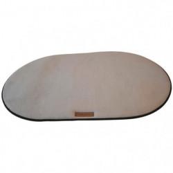 M-PETS Coussin oval Scilly L - 95x60cm - Gris - Pour chien
