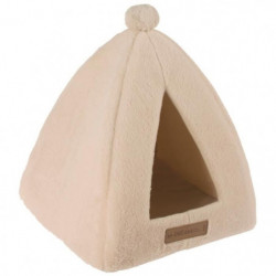 M PETS Tipi Yull - Beige - Pour chat