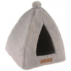 M PETS Tipi Yull - Gris - Pour chat