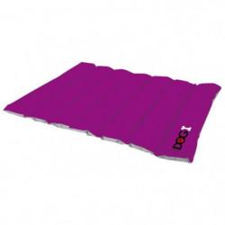 Coussin boudin molletonné Dogi 90x70 cm - Violet - Pour chie
