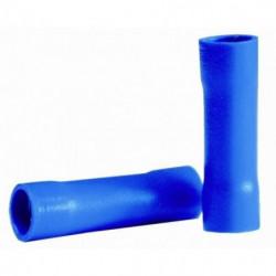 VOLTMAN Pack 10 Cosses prolongateurs - 2,3 mm - Bleu