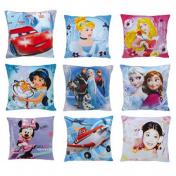 Fun House Disney coussins carre moderne 45pcs 9 assortis pou