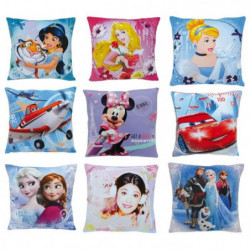Fun House Disney coussins carre moderne 27pcs-9 assortis pou