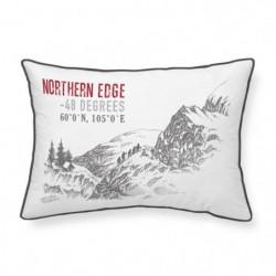 TODAY Coussin Chalet en coton - 30 x 50 cm - Northen Edge