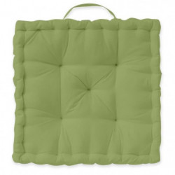 TODAY Coussin de sol 100% coton - 40 x 40 cm - Bambou