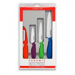 LE COUTEAU DU CHEF Coffret 1 éplucheur + 1 couteau d'office
