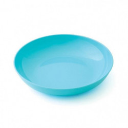 PLASTOREX Assiette micro-ondable Polypropylene 18,5 CM Bleu