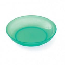 PLASTOREX Assiette micro-ondable Polypropylene 18,5 CM Vert