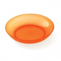 PLASTOREX Assiette micro-ondable Polypropylene 18,5 CM Orang