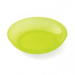 PLASTOREX Assiette micro-ondable Polypropylene 18,5 CM Jaune