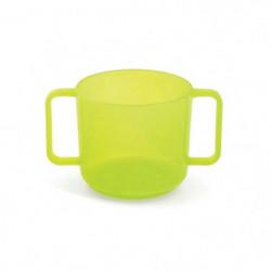 PLASTOREX Tasse a Anses Micro-Ondable Polypropylene Tilleul