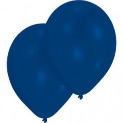 AMSCAN Lot de 10 Ballons en latex Premium 27,5 cm/11'' - Ble