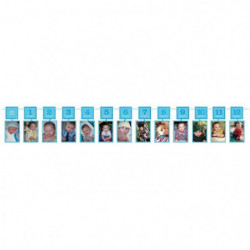 AMSCAN Guirlande cadres photos 1st Brithday Boy 365 cm
