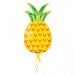 AMSCAN Ballon Superhape Ananas en feuille d'aluminium P35 -