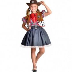 CESAR - F427 - Déguisement cowgirl - 5 / 7 ans
