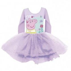 PEPPA PIG Tenue de Danse Ballet Pour Enfants de 2, 4 et 6 an
