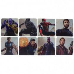 8 dessous de verre Marvel - Avengers Infinity War: Personnag