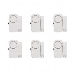 CHACON Lot de 6 mini-alarmes d'ouverture et avertisseurs d'e