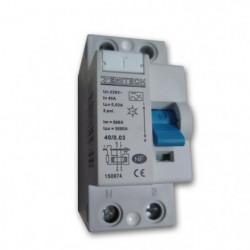 Interrupteur différentiel 40/2 30 mA Type A Zenitech NF