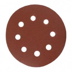 Lot de 6 disques abrasifs pour finitions - Ø 115 mm - Grain