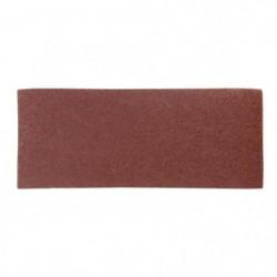 Lot de 6 rectangles abrasifs pour décaper - 93 x 230 mm - Gr