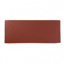 Lot de 6 rectangles abrasifs pour finition - 93 x 230 mm - G