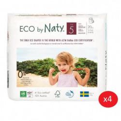 NATY - Lot de 4 paquets de Culottes d'apprentissage Taille 5