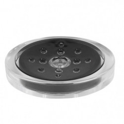SYDNEY Porte savon - 3x13x10cm - Noir