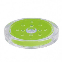 SYDNEY Porte savon - 3x13x10cm - Vert kiwi