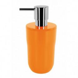 COCCO Distributeur de savon - 16,5 x 7,5 x 7,5 cm - Orange
