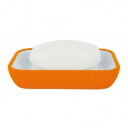 COCCO Porte savon - 2,5 x 12 x 8,5 cm - Orange
