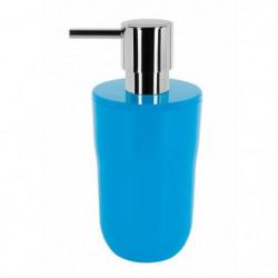COCCO Distributeur de savon - 16,5 x 7,5 x 7,5 cm - Bleu