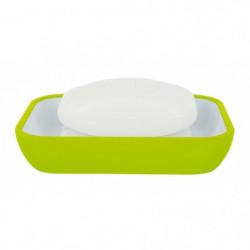 COCCO Porte savon - 2,5 x 12 x 8,5 cm - Vert kiwi