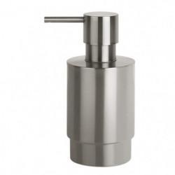 NYO Distributeur de savon - 14,2x7x6,5 cm - Acier brossé