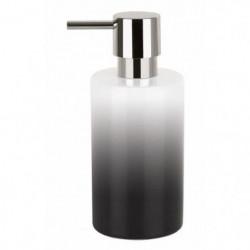 TUBE Distributeur de savon Gres - 16x7x7 cm - Noir