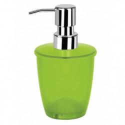 TORONTO Distributeur de savon - 15,5x8,5x8,5 cm - Vert kiwi
