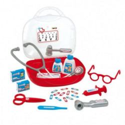 SMOBY Vanity Docteur Coffret Médical + Accessoires