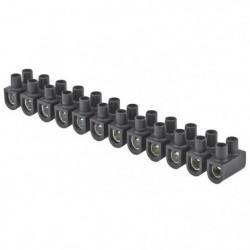 DEBFLEX Barrette de connexion 16 mm² noir