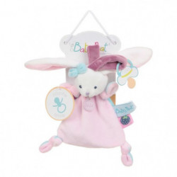 BABY NAT Doudou Attache Sucette Berry