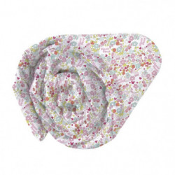 Drap housse 100% Coton MINNIE BLOOM 90x190cm
