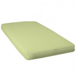 BABYCALIN Drap housse Jersey coton - Vert - 70 x 140 cm